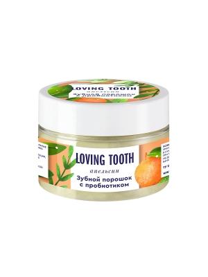 Зубной порошок с пробиотиком (70гр, апельсин)