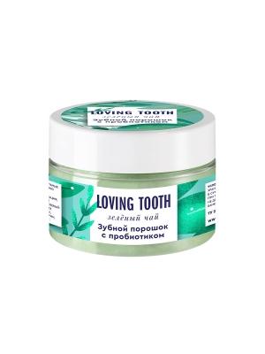 Зубной порошок с пробиотиком (70гр, зеленый чай)