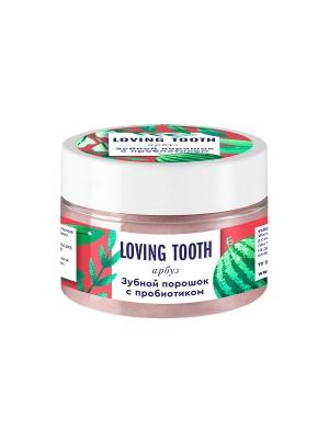 Зубной порошок с пробиотиком (70гр, арбуз)